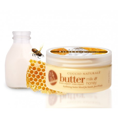 Beurre soin hydratant 24h Cuccio Naturale au Lait & Miel