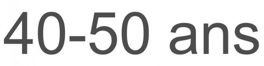 40-50 ans